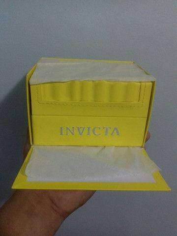 Relógio Invicta 300metros Importado de mergulho profissional de quartzo (modelo: 28767) - Foto 4