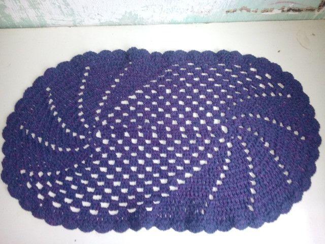 Tapete de Crochê feito a mão