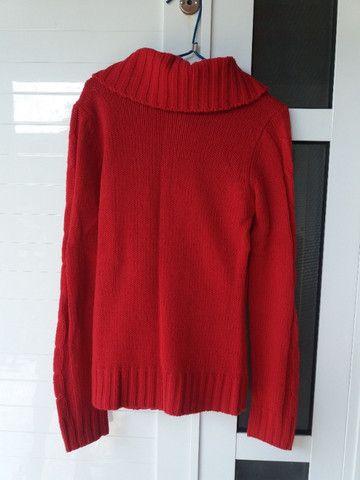 Blusa Vermelha Inverno - Foto 2