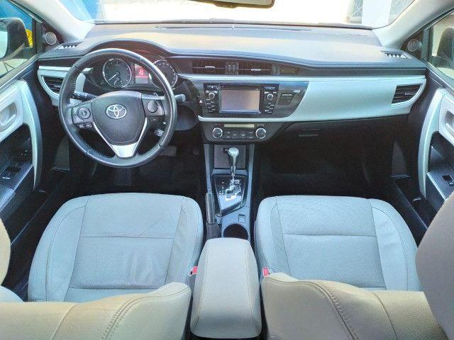 Toyota Corolla Xei 2017 aut (2ºdono) Repasse - Foto 12