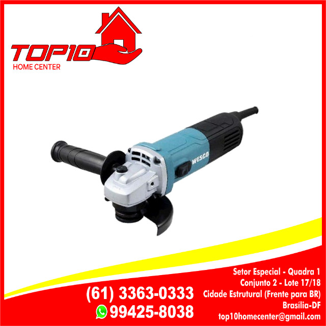 Esmerilhadeira 4.1 750W 220V/115mm WS4740 - Wesco 229,99 a Vista