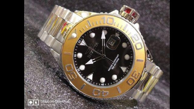 Relógio Invicta 300metros Importado de mergulho profissional de quartzo (modelo: 28767) - Foto 2