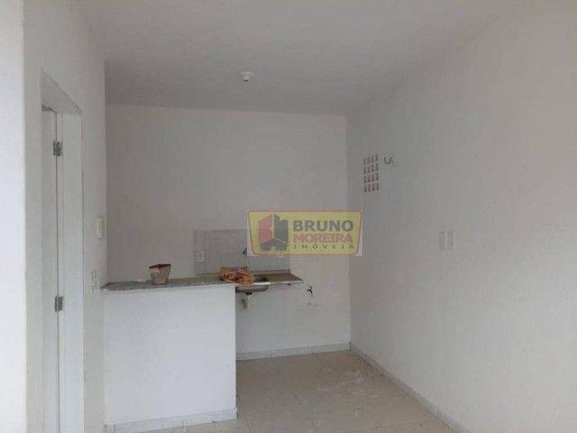 Apartamento com 2 dormitórios para alugar, 55 m² por R$ 390,00/mês - Siqueira - Fortaleza/ - Foto 5