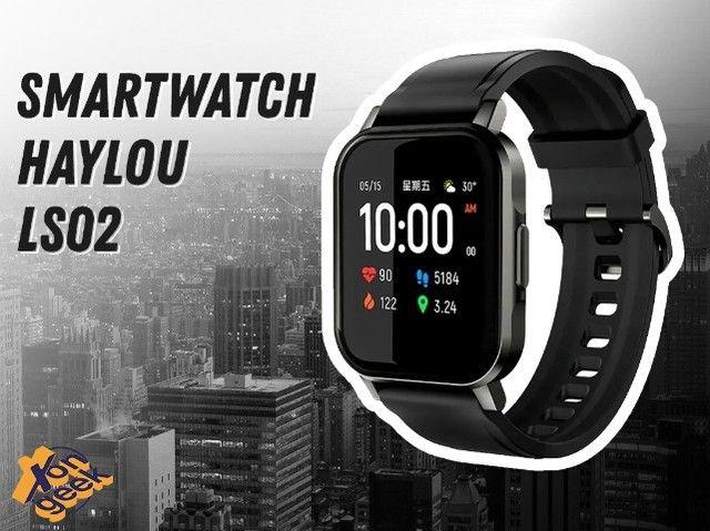 Haylou Smartwatch 2 LS02 | Lacrada com garantia | Em até 12 vezes
