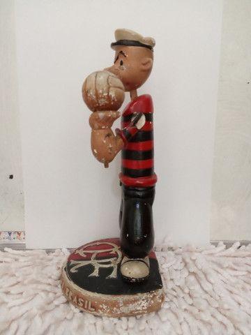 Flamengo - Mascote raríssima!!! anos 40/50 Estatueta antiga. - Foto 4