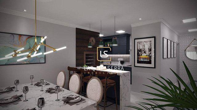 Apartamento à venda, 107 m² por R$ 728.260,47 - Lagos Do Bosque - Gramado/RS - Foto 10