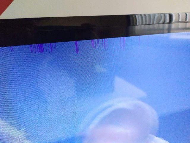 Smart TV 40' Samsung - Defeito na tela - Foto 3