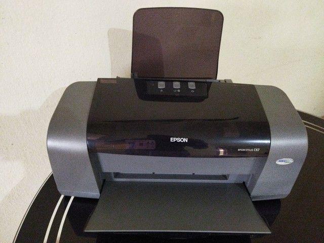 Impressora Epson stylus C67 - Foto 3