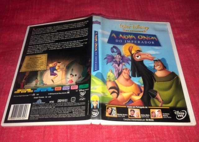 DVD A Nova Onda do Imperador - 1ª Edição - Disney  - Raríssimo - Foto 2