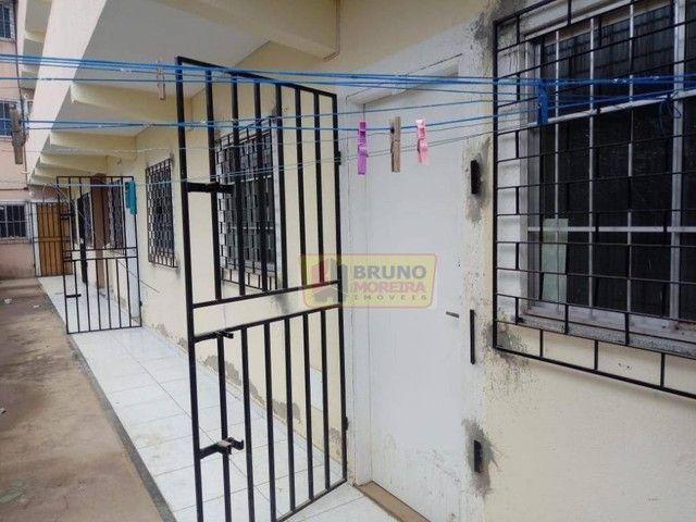 Apartamento com 2 dormitórios para alugar, 55 m² por R$ 390,00/mês - Siqueira - Fortaleza/ - Foto 3