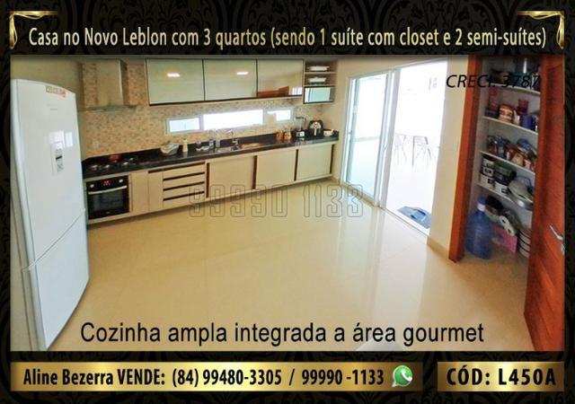 Ampla casa no Novo Leblon com 3 quartos, já com móveis projetados - Foto 12