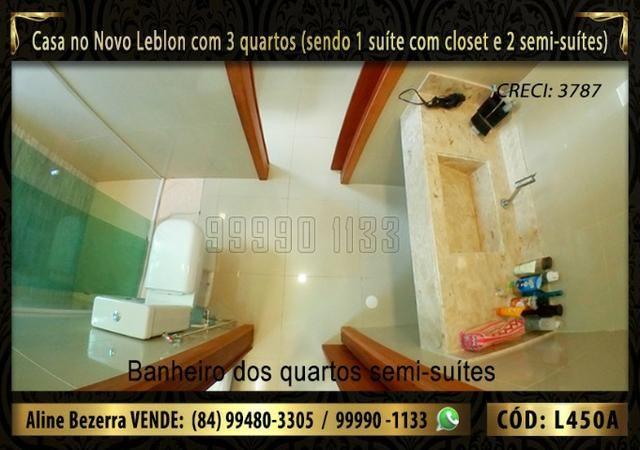 Ampla casa no Novo Leblon com 3 quartos, já com móveis projetados - Foto 11
