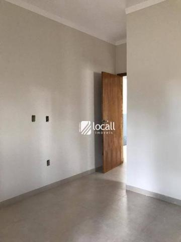 Casa com 2 dormitórios para alugar, 130 m² por r$ 1.000/mês - bady bassitt - bady bassitt/ - Foto 3
