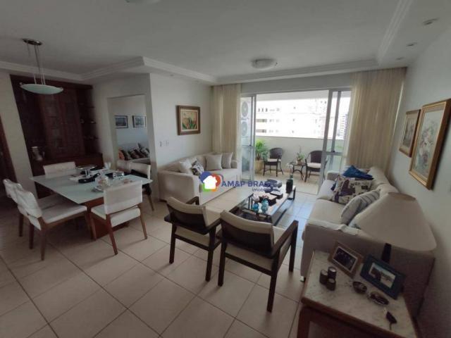 Apartamento com 3 dormitórios à venda, 126 m² por r$ 510.000,00 - setor bueno - goiânia/go - Foto 3