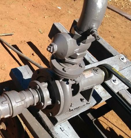 Conjunto de irrigação completo com motor nb13 motobomba - Foto 3