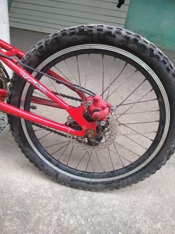 Vendo ou troco essa bicicleta por outra! - Foto 2