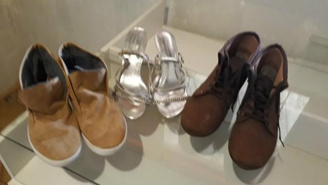 3 pares de sapatos - Foto 3