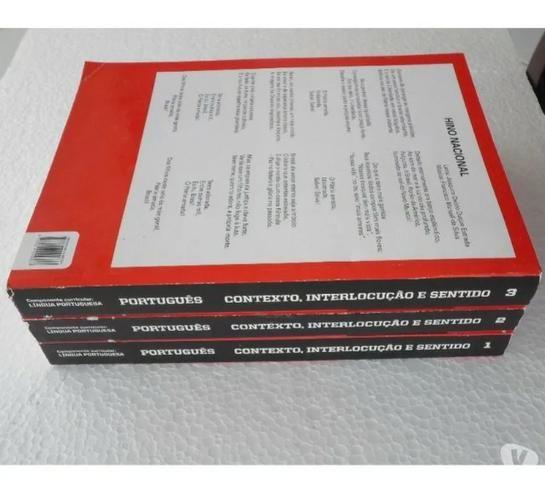 Português - Contexto, Interlocução e Sentido - 3 Volumes - Ensino Médio Completo - Foto 4