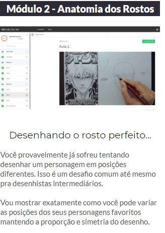 Curso de Desenho Método Fanart 2.0 ( Online ) - Foto 5