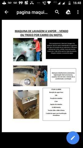Máquina de vapor troco por carro ou moto - Foto 2