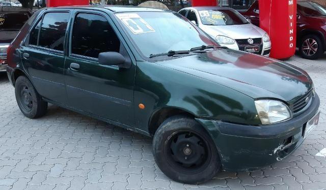 Fiesta GL Class 1.0 5P 2001 Verde - Foto 3