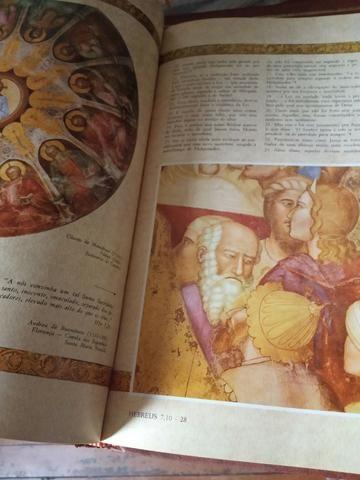 Raridade! Coleção Bíblia Sagrada Católica Ilustrada - Foto 4