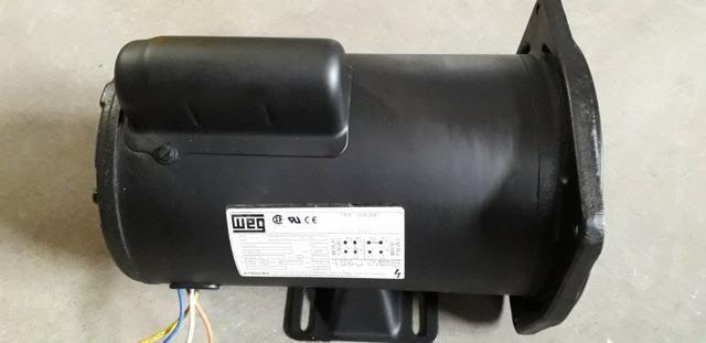 Motor Monofasico 1 Hp Alta Rotação 220/440v