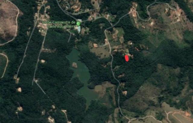 Areal 9 mil metros caete condomínio com piscina - Foto 3