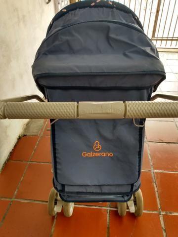 Carrinho bebê menino Galzerano - Foto 4
