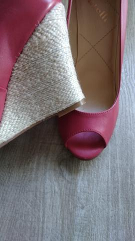 Sapato Peep Toe Datelli 35 - Foto 2