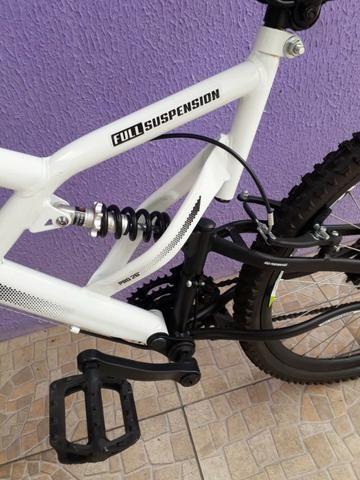 Bicicleta Colli Fulls GPS Aro 26 21 Marchas Suspensão Dupla 220 - Foto 6