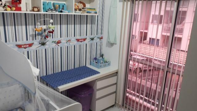 FH - Alugo Apartamento no Condomínio Praias Belas Estrada de Ribamar 2 Banheiros - Foto 7