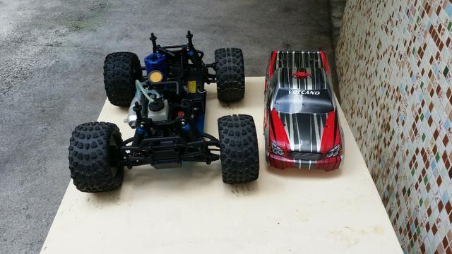 Redcat Racing Volcano S30 Nitro Truck, Red, 1/10 Scale - Foto 4
