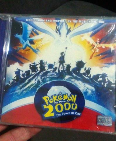 Cd Pokemon The Movie 2000 The Power Of One Lacrado