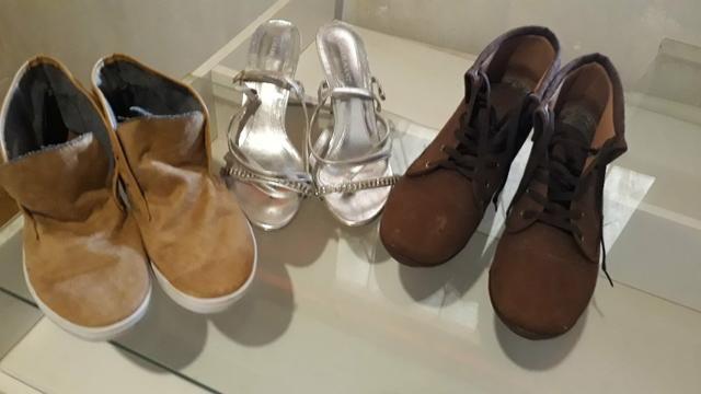 3 pares de sapatos - Foto 2