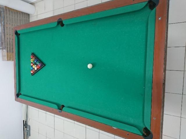 Mesa de Sinuca com Gaveta 1,27 x 2,27, Oportunidade! - Foto 3