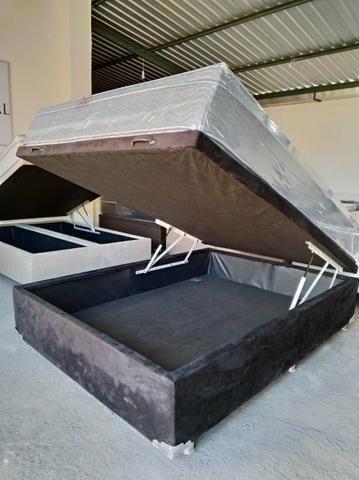 Promoção cama baú novos direto da fabrica - Foto 3
