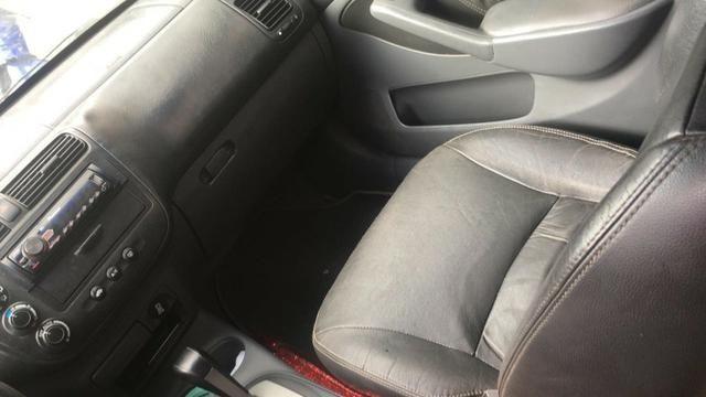 Honda Civic EX o top da categoria vendo ou troco por carro mais alto - Foto 2