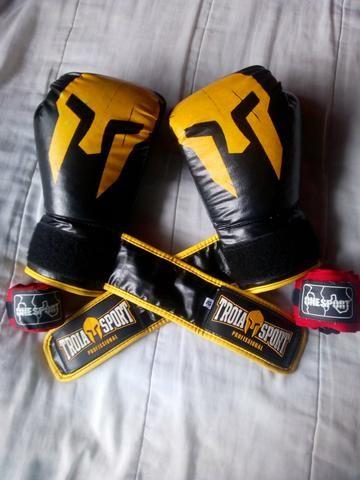 Luva de boxe profissional
