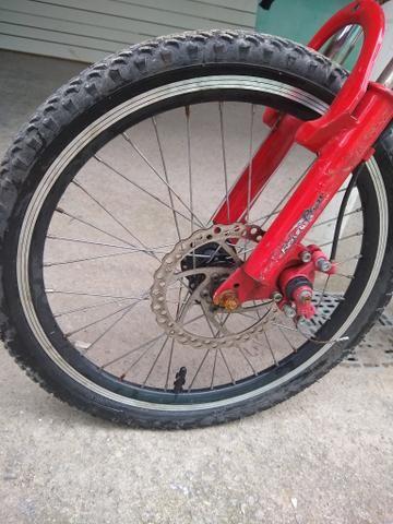 Vendo ou troco essa bicicleta por outra! - Foto 3