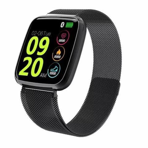 Relógio Smartwatch Colmi S8 Pulseira de Aço