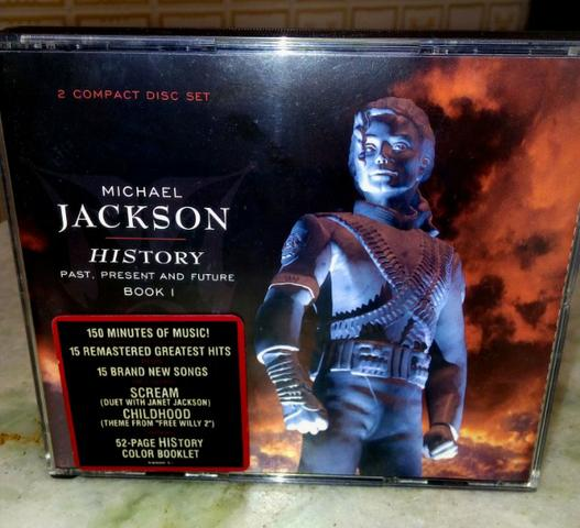 Cd Michael Jackson History Past Present Future - Importado