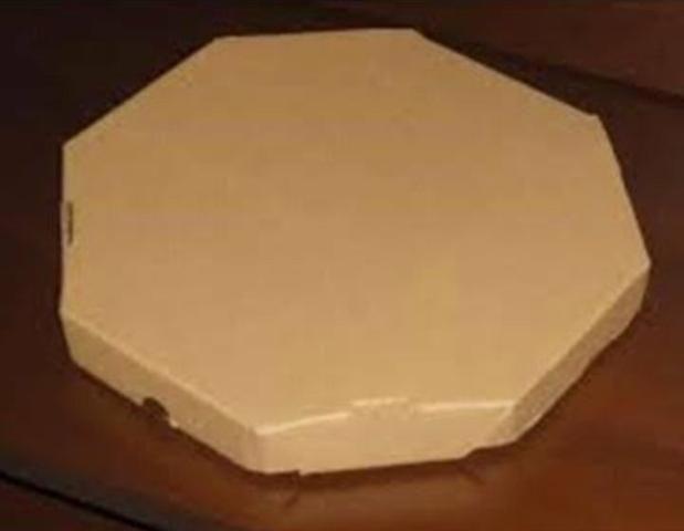 Caixa de pizza ? parda