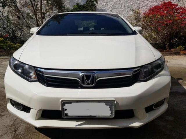 Honda Civic 1.8 2012, Completo! Não troco - Foto 2