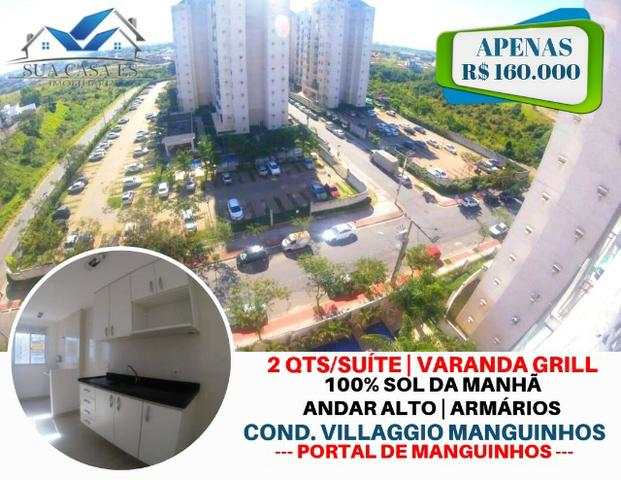 BN- Apartamento no Villaggio Manguinhos 2 quartos com suíte