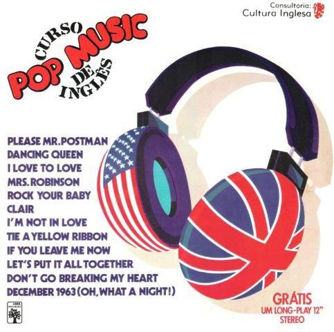 Coleção curso de inglês Pop Music da editora abril, em 01 dvd