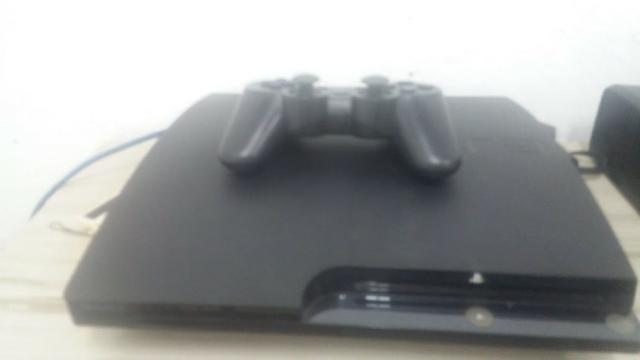 Playstation 3 (com 3 bips) + controle + Cabo HDMI