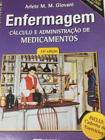 Livro Cálculo e administração de medicamentos