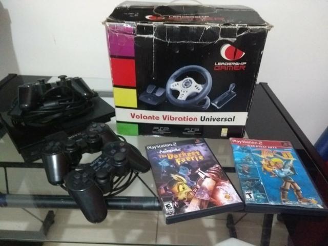 Playstation 2 e acessórios