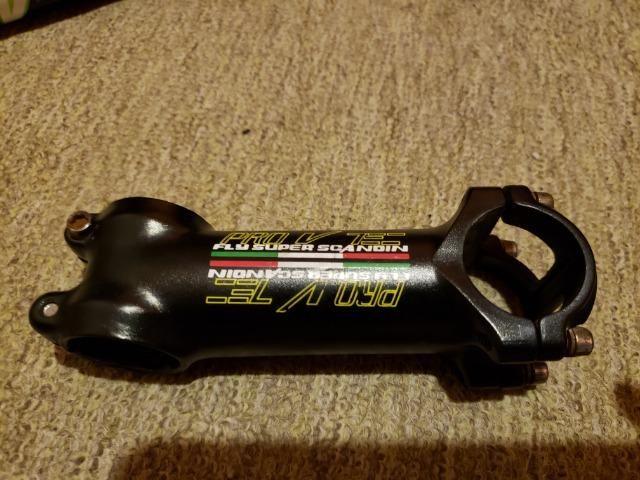 Guidão Carbono 680mm E Mesa Scandium 80mm